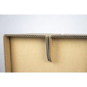 KarTent Sustainable Cardboard Block Stool