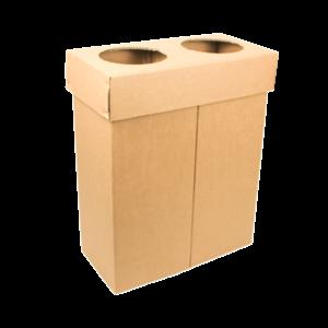 KarTent Cardboard Duo Bin