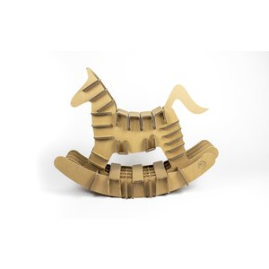 KarTent Cardboard Rocking Horse