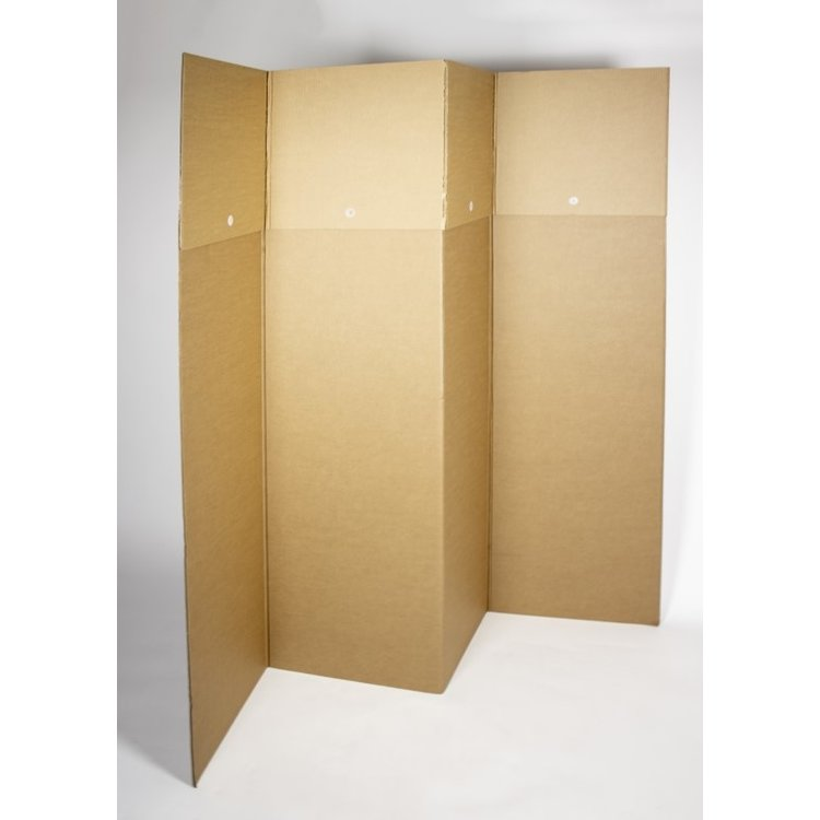 KarTent Cardboard Temporary Curtains / Obscuring Custom-Made