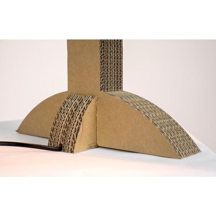 KarTent Cardboard Lichtenvoorde Lamp