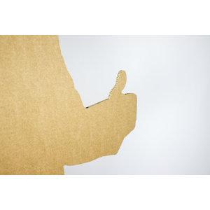 KarTent Lifesize Cardboard Figure -  Donald Trump Silhouette Cutout