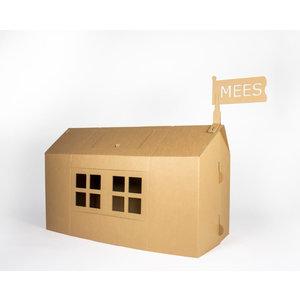 KarTent Duurzaam Kartonnen Kinder Speelhuis