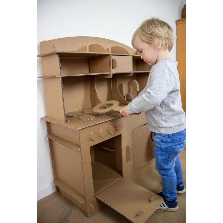 KarTent Kartonnen Kinder Speelkeuken