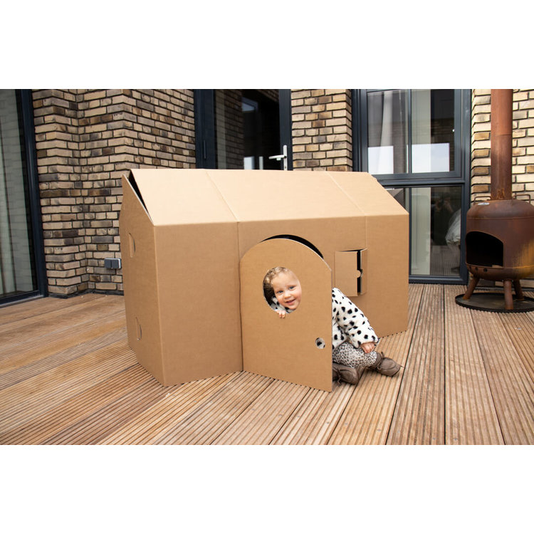 KarTent Sustainable Cardboard Kids Toy House