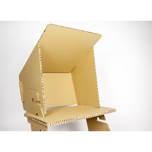 KarTent Home Working Standing Desk with Monitor Sunshade