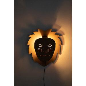 KarTent Cardboard Wall Lights Kids Room Lion