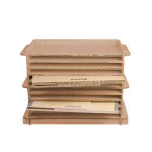 KarTent Cardboard Study Buddy Storage Cabinet