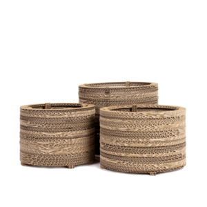 KarTent Cardboard Flowerpot and Plant Pot - Roos