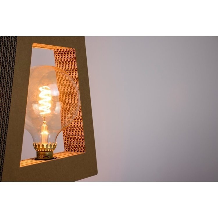 KarTent Cardboard Large LED lamp bulb E27 for your cardboard lamp
