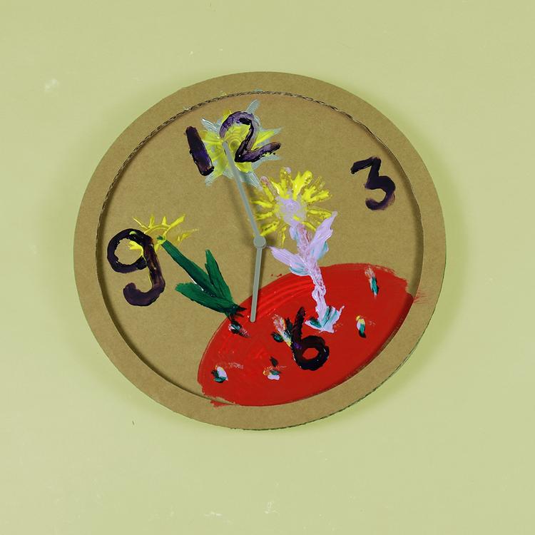 KarTent Cardboard Craft Kit Clock