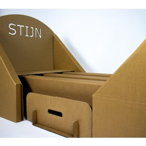 KarTent Cardboard Children Bed