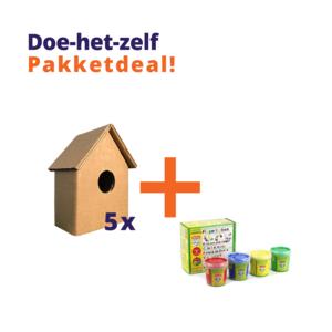 KarTent Craft Kit Birdhouses