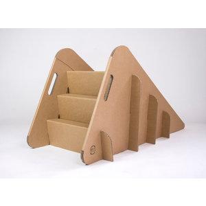 KarTent Cardboard Toddler Slide