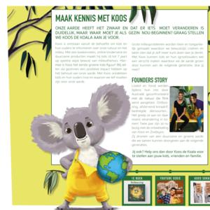 KarTent Cardboard Koos the Koala Lamp
