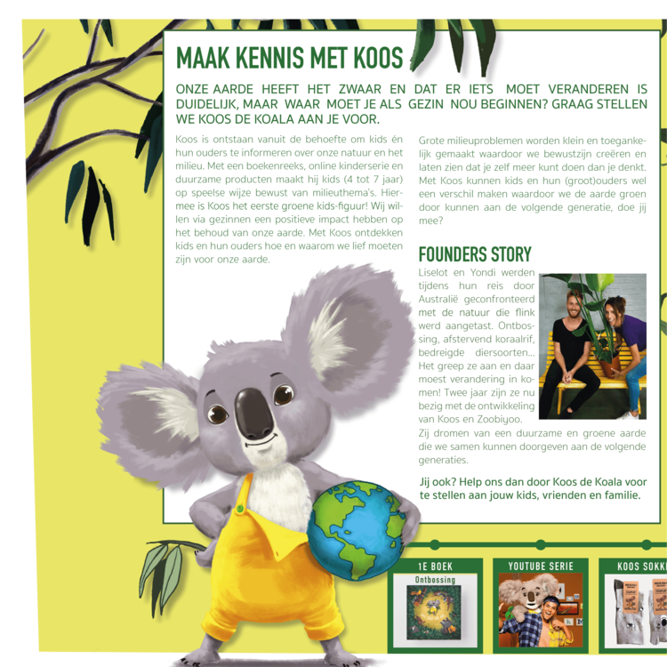KarTent Kartonnen Koos de Koala Lamp
