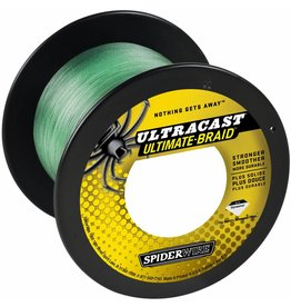 SpiderWire SpiderWire Ultracast 4 Carriers Green Dyneema Gevlochten Lijn