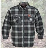 Thermo Overhemd Fleece Antraciet