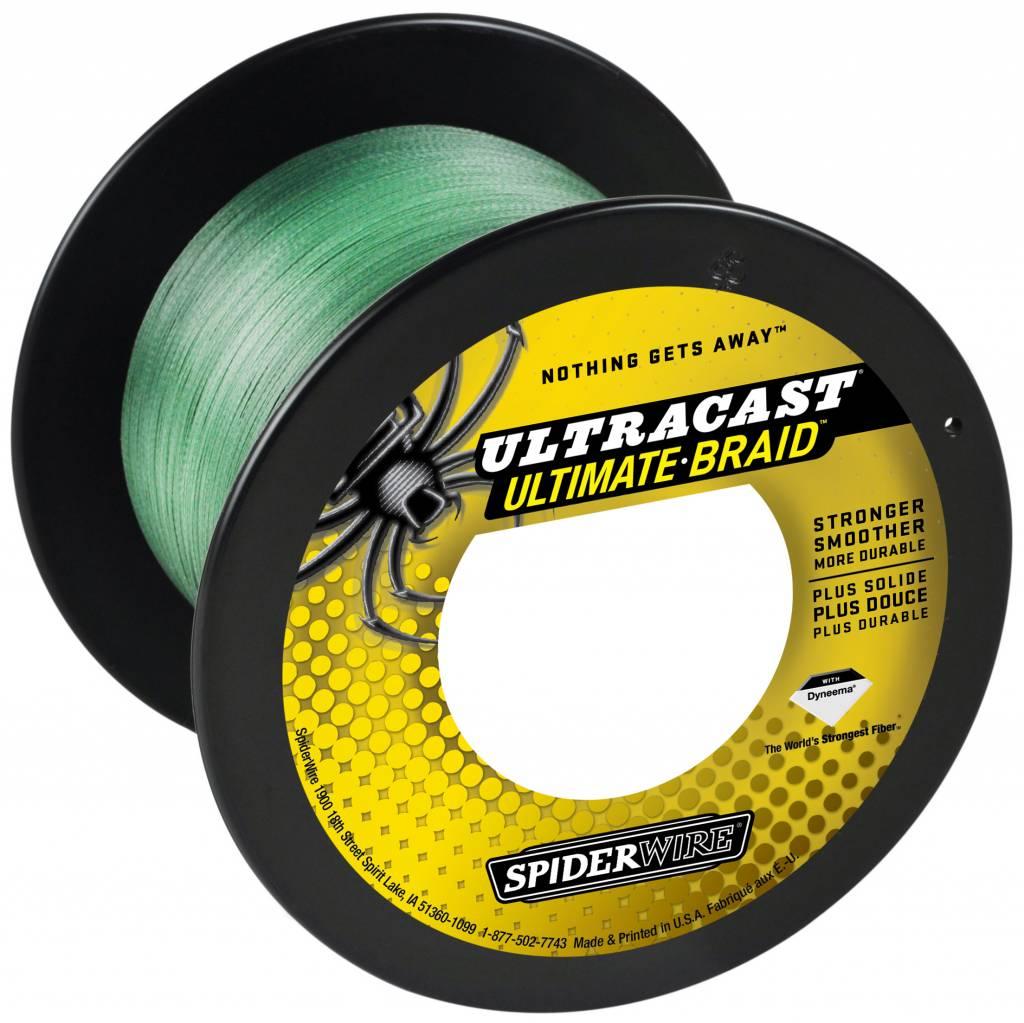 SpiderWire SpiderWire Ultracast 8 Carrier Braid Green Dyneema Gevlochten Lijn