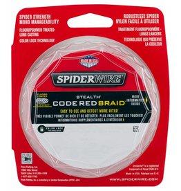 SpiderWire SpiderWire Stealth Code Red Dyneema Gevlochten Lijn