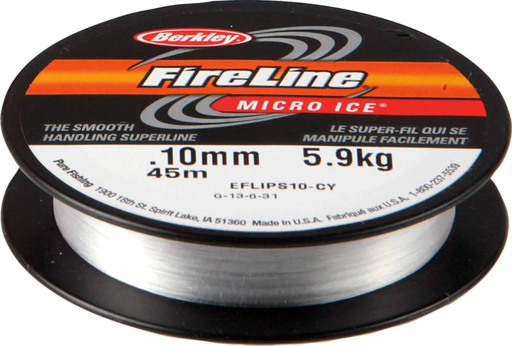 Berkley Berkley FireLine Micro Ice Crystal Dyneema Gevlochten Lijn