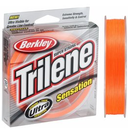 Berkley Berkley Trilene Sensation Blaze Orange Nylon Visdraad