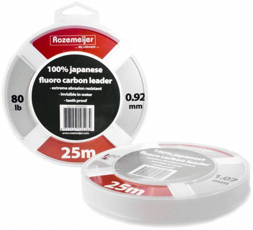 Rozemeijer 100% Japanese FluoroCarbon Leader 100lb