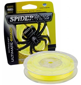 SpiderWire SpiderWire Ultracast 8 Carrier Braid Yellow Dyneema Gevlochten Lijn