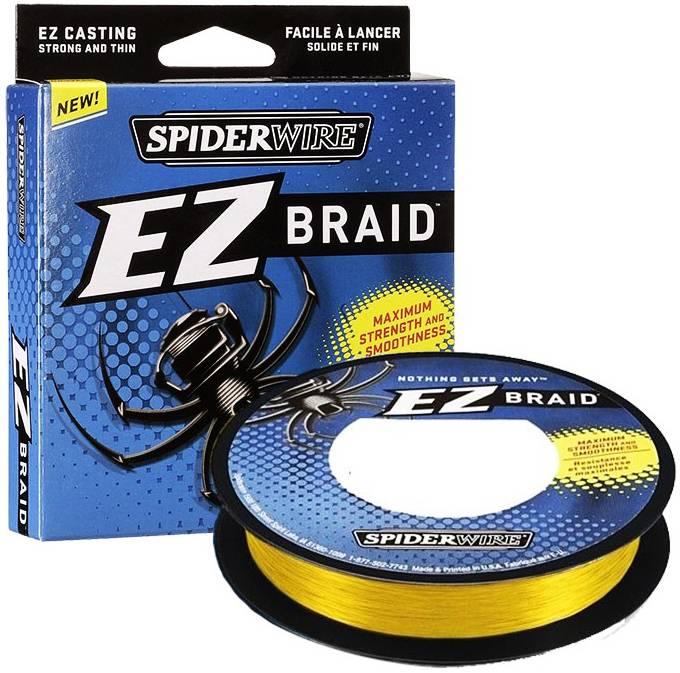 SpiderWire SpiderWire EZ Braid Yellow Dyneema Gevlochten Lijn