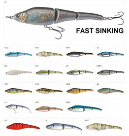 Sebile Sebile Magic Swimmer Fast Sinking Jerkbait Kunstaas