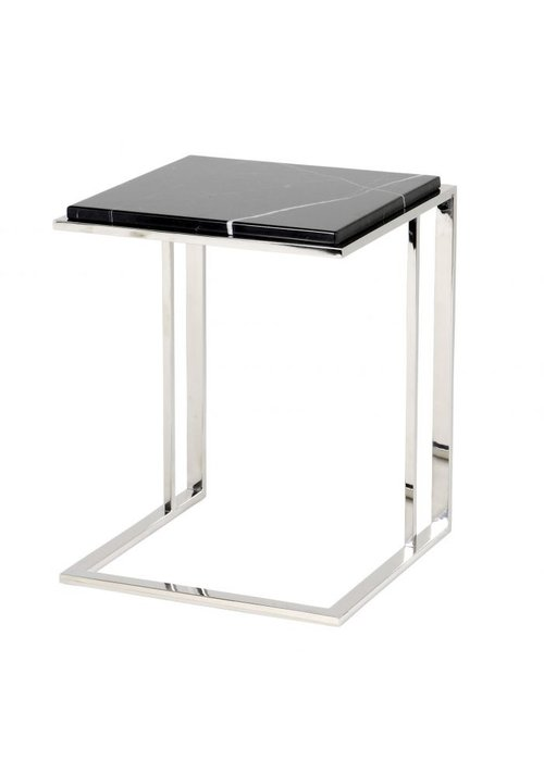 Eichholtz Side Table - Marble Silver