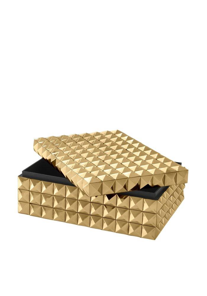 Box - Studs Gold - M