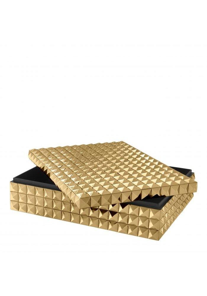 Box - Studs Goud -  L