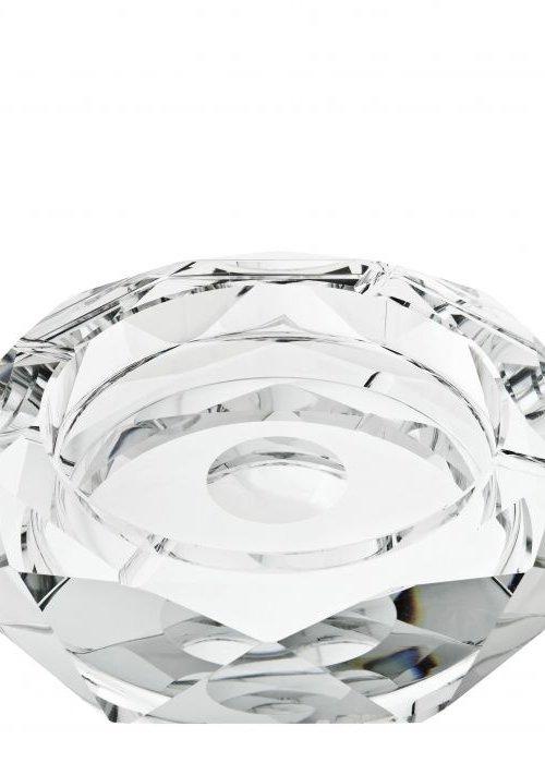 Eichholtz Crystal Ashtray - Round