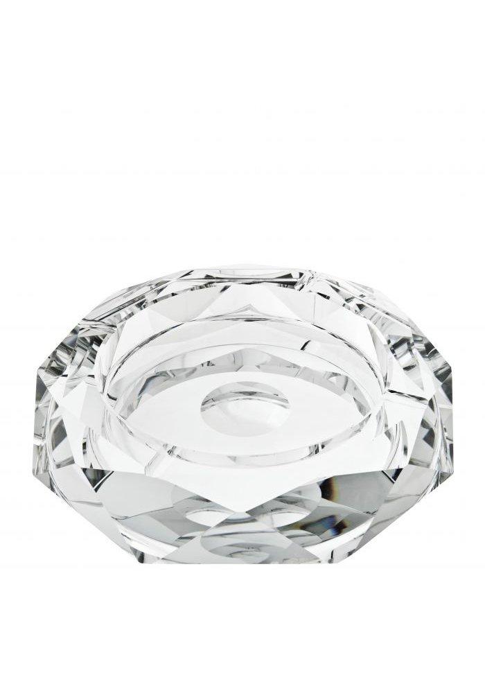Kristallen Asbak - Rond