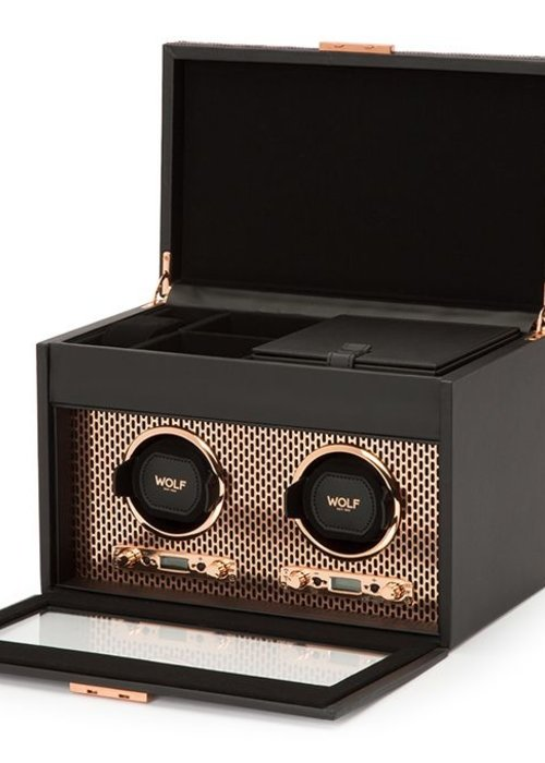 Watch Winder - Roselily - double - Cuivre