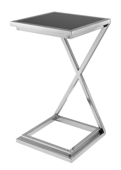 Side Table - Cross Silver