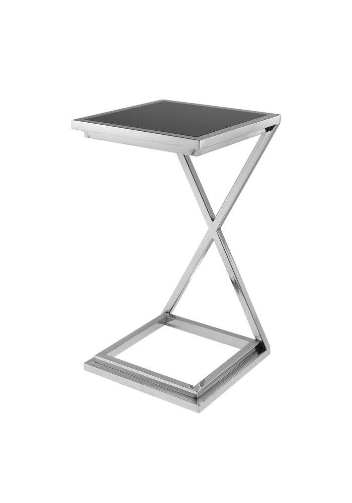 Side Table - Cross Silver
