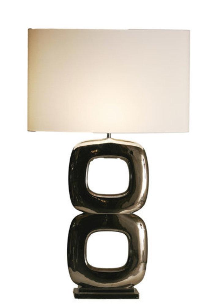 Table Lamp Maxime -  2 x  Block Glossy Nikkel