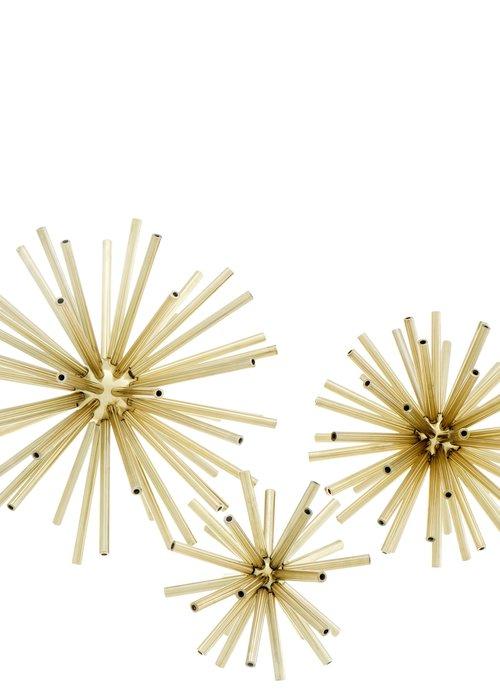 Eichholtz Spikes Set van 3 - Goud