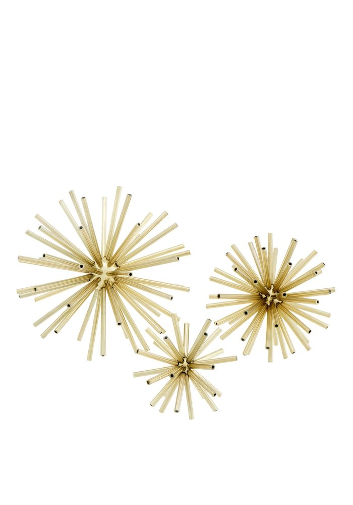 Spikes Set of 3 - Gold