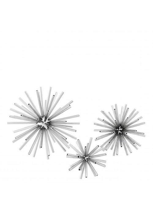 Eichholtz Spikes Set van 3 - Zilver