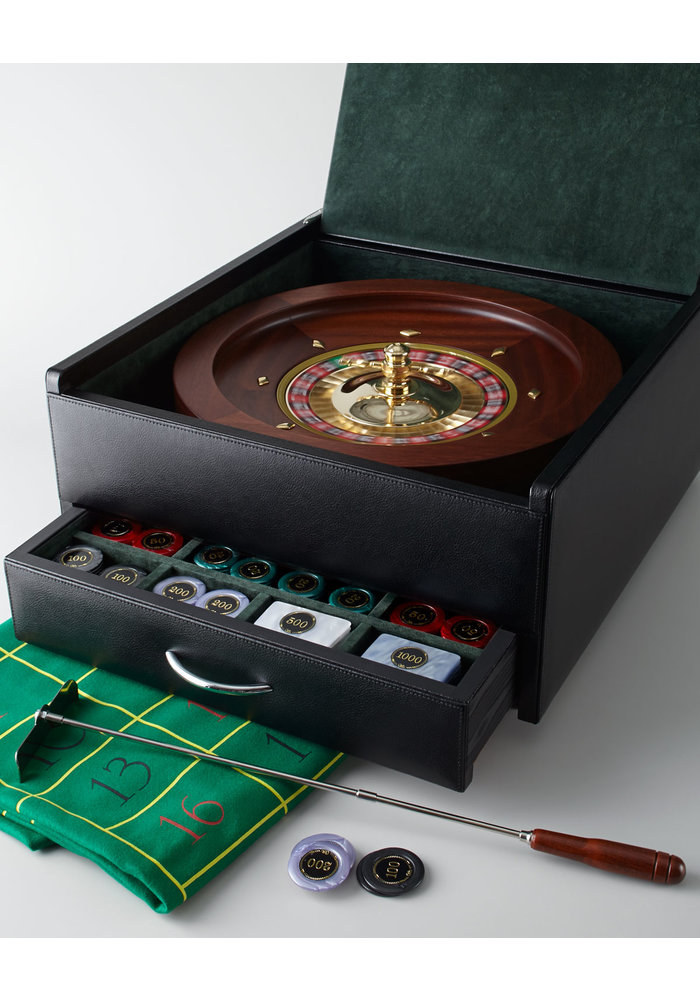 Roulette Set - Leer