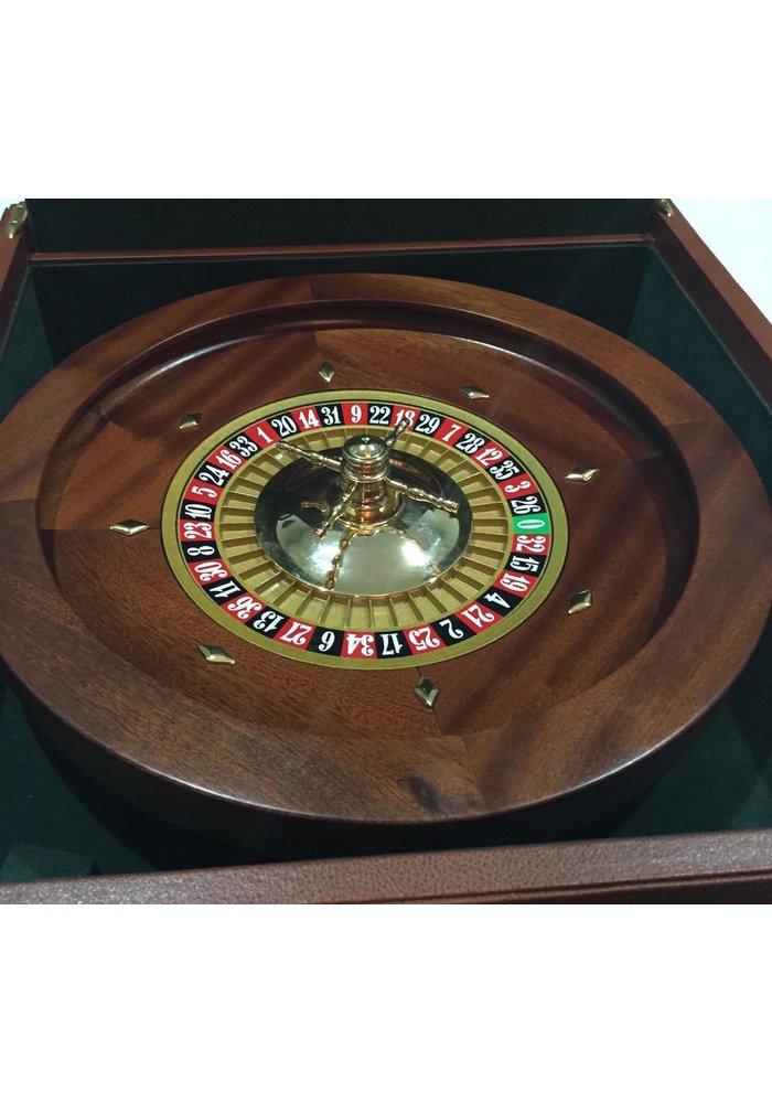 Roulette Set - Leather