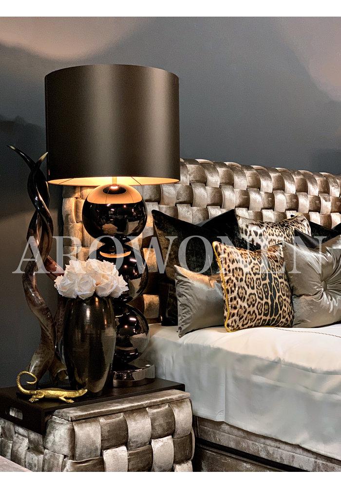 Table Lamp Milano - 3 x Ball  Glossy bronze