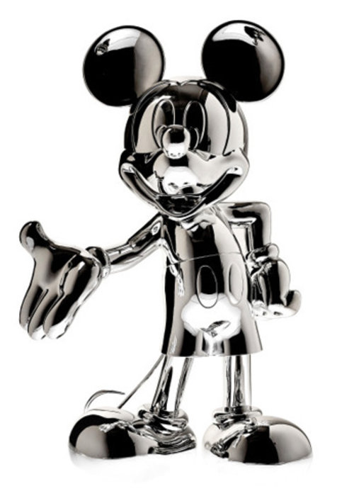 Disney Mickey Mouse -  Metallic Silver