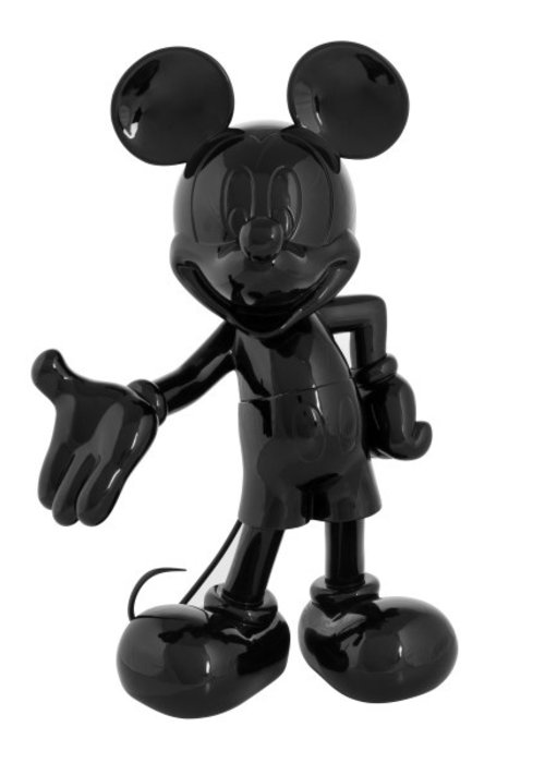 Disney Mickey Mouse - Glossy Zwart