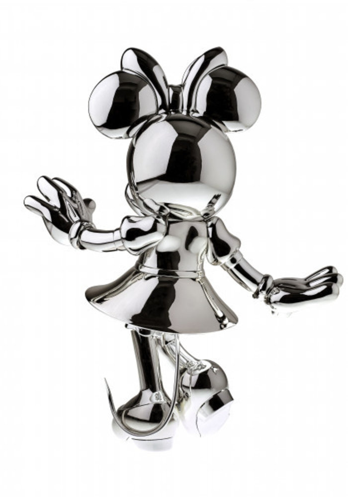 Minnie Mouse - Metallic Zilver