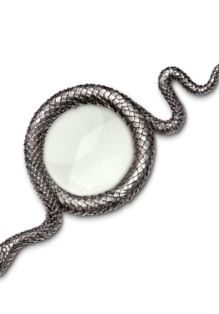 Snake away Zilver - Vergroot glas - L