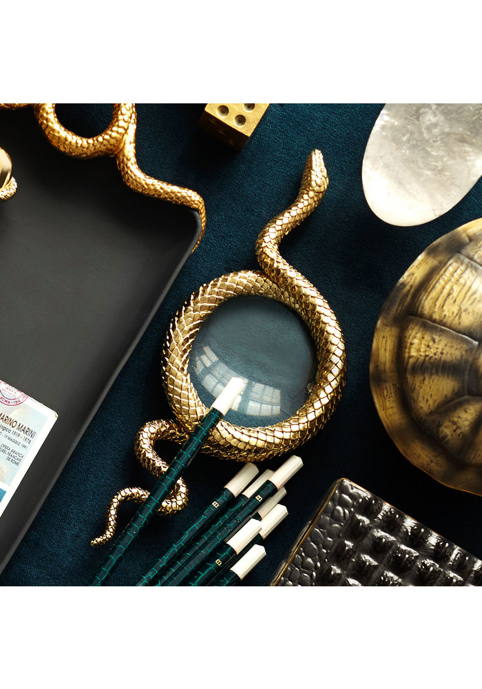 Snake away Gold -  Magnifying Glass - L